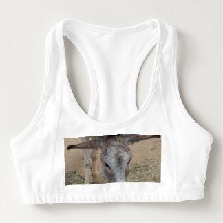 Long Eared Donkey Sports Bra