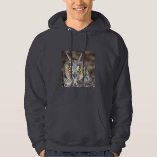 Long-eared Owl Hoodie