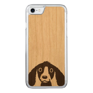 Long Ears Dog Carved iPhone 8/7 Case