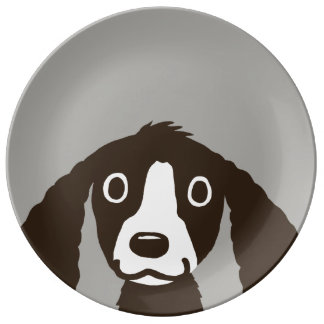 Long Ears Dog Plate