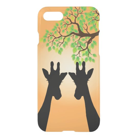 Long Eyelashes Giraffe iPhone 8/7 Case