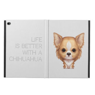 Long-Haired Beige and White Chihuahua Powis iPad Air 2 Case