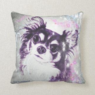Long Haired Chihuahua Cushion