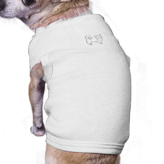 Long Haired Chihuahua Paint Your Own Pet Clothing