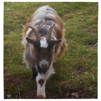 Long Haired Goat. Napkin