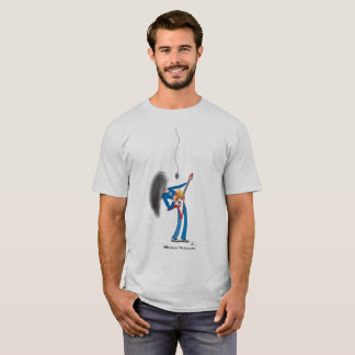 Long-haired guitar player T-Shirt