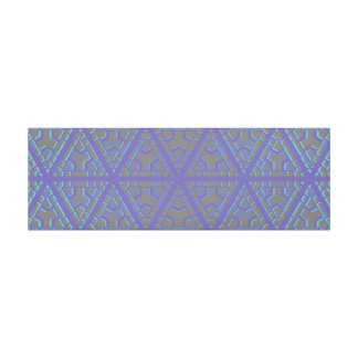 Long Horizontal Geometrical TribalPattern Wall Art