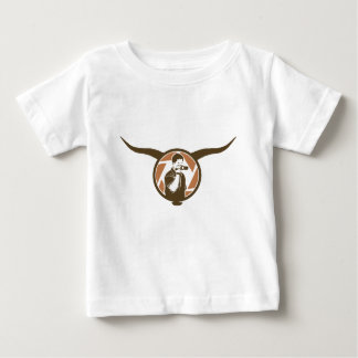 Long Horn Bull Videography Baby T-Shirt