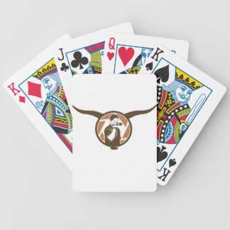 Long Horn Bull Videography Bicycle Playing Cards