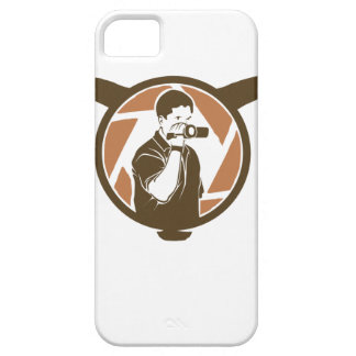 Long Horn Bull Videography iPhone 5 Case