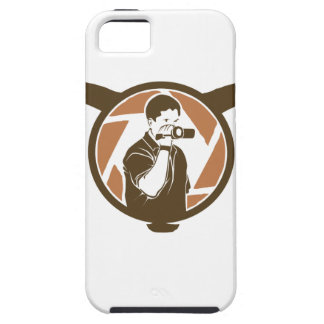 Long Horn Bull Videography iPhone 5 Covers