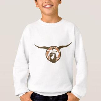 Long Horn Bull Videography Sweatshirt