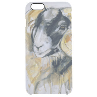 Long Horn Sheep Clear iPhone 6 Plus Case
