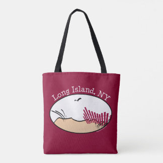 Long Island Beach Dunes Tote Bag