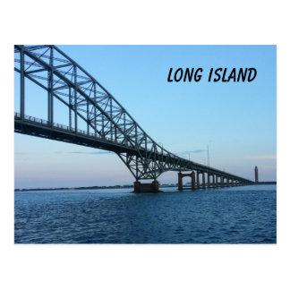 Long Island Causeway Postcard