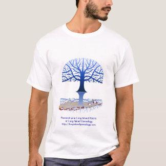 Long Island Genealogy  Blue T-Shirt
