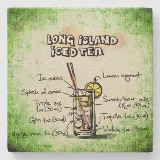 Long Island Iced Tea Drink Recipe Stone Coaster