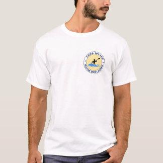 Long Island Kayak Explorers Front and Back Logo T-Shirt