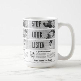 Long Island Railroad Safety Coffee Mug