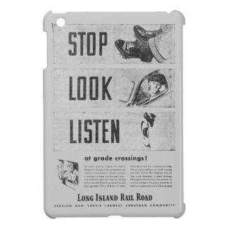 Long Island Railroad Safety iPad Mini Cover