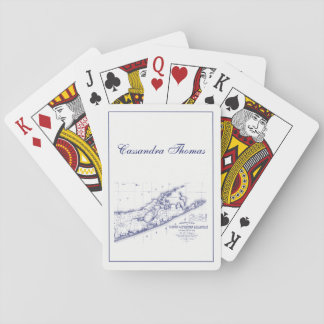 Long Island The Hamptons Map Playing Cards