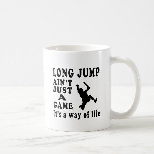 Long Jump Ain't Just A Game It's A Way Of Life Coffee Mugs
