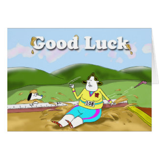 Long Jump, Good Luck Card