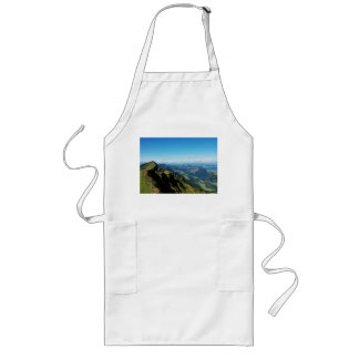 Long kitchen apron alps with upper baptism in the