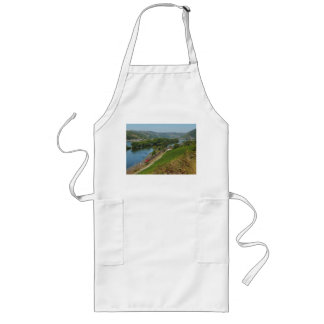 Long kitchen apron central Rhine Valley with Lorch
