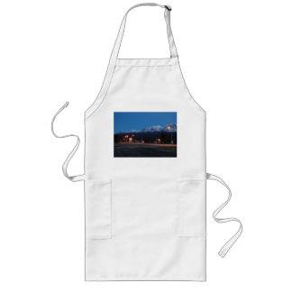 Long kitchen apron Haines Junction blue hour