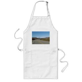 Long kitchen apron highway in Alaska