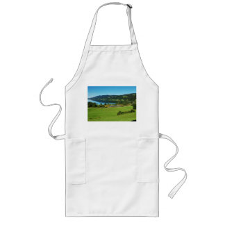 Long kitchen apron of large Alpsee