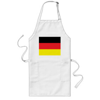 Long kitchen apron with Germany flag