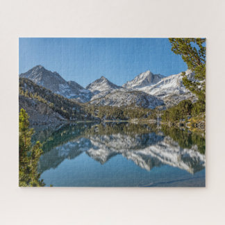 Long Lake Reflection, Little Lakes Valley Jigsaw Puzzle