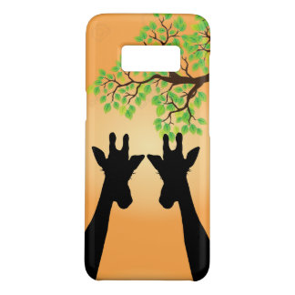 Long Lash Giraffes Case-Mate Samsung Galaxy S8 Case