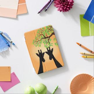 Long Lash Giraffes iPad Mini Cover