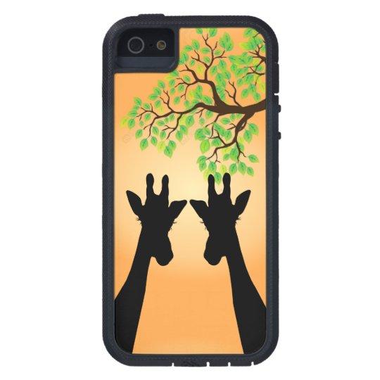 Long Lash Giraffes iPhone 5 Cover