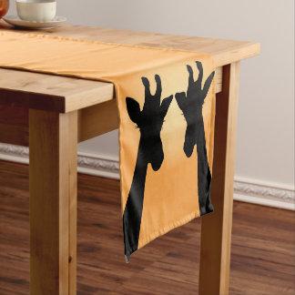 Long Lash Giraffes Long Table Runner