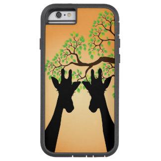Long Lash Giraffes Tough Xtreme iPhone 6 Case