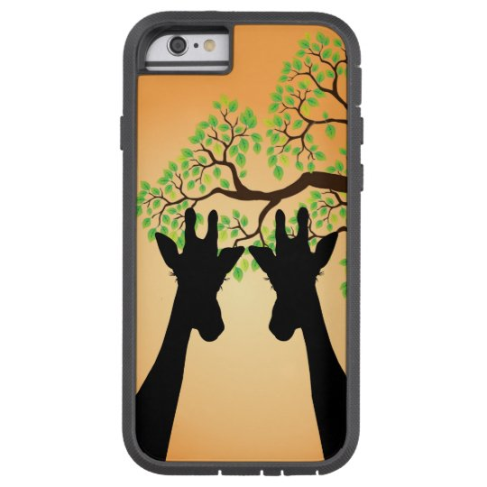 Long Lash Giraffes Tough Xtreme iPhone 6 Case