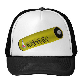 Long Lasting Battery Trucker Hat