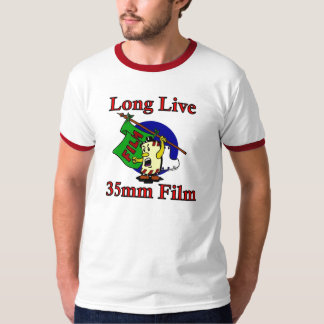 Long Live 35mm Film T-Shirt