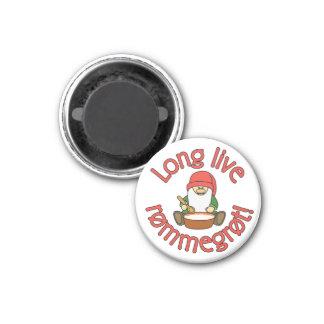 Long Live Rømmegrøt (rommegrot) Funny Magnet