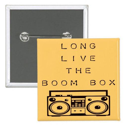 Long Live The Boom Box-Button