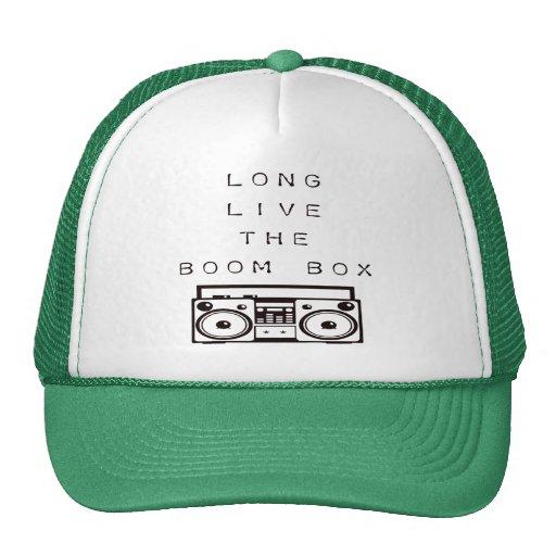 Long Live The Boom Box-Hat