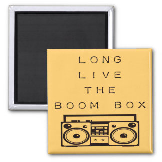 Long Live The Boom Box-Magnet