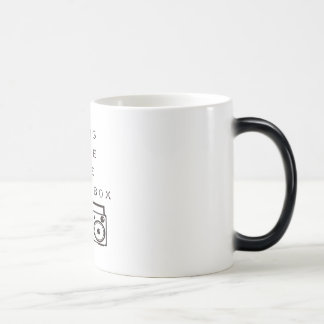 Long Live The Boom Box- Morphing Mug