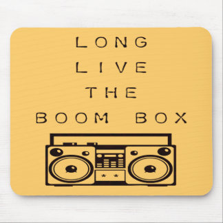 Long Live The Boom Box-Mousepad