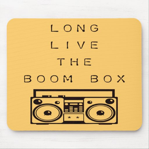Long Live The Boom Box-Mousepad