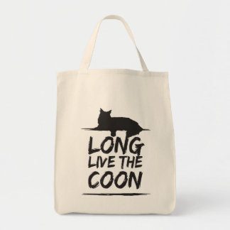 Long Live The Coon! Maine Coon shopping bag